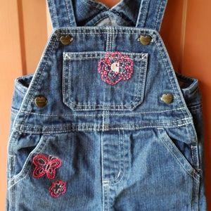 Carhartt baby girls overalls